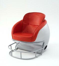 Football helmet chair #FLVS #study #space