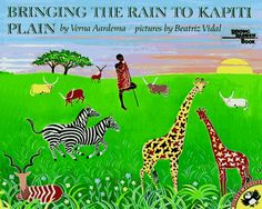 Bringing the Rain to Kapiti Plain - a poem about the African plains. A Reading Rainbow Book. Dolly Parton Imagination Library, Reading Fair, Reading Bingo, Reading Rainbow, Music Classroom, Classroom Ideas, Classroom Resources, Fair Projects, Children's Literature