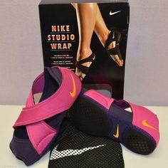 Nike Studio Wrap Yoga Barre Dance Training 605763 Shoes XS 5-6 S 6.5-7.5 L  9.5