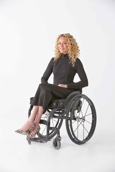 A whole line of accessible fashion!  Ponte Tube Dress in Black - Beautifully made, easy access clothing. The skirts and dresses are made so they won't ride up while sitting in a wheelchair. https://izcollection.com