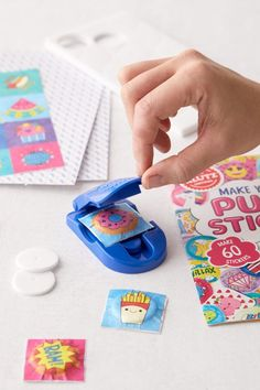 DIY Puffy Sticker Book Kit Unique Gifts, Best Gifts, Tween Girl Gifts, Tween Girls, Make Time, How To Make, Stationary Set, Adult Crafts, Kids Crafts