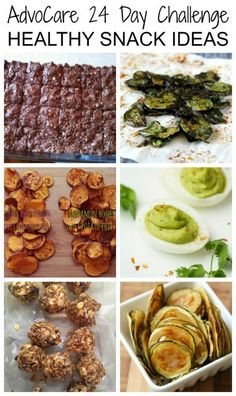 Healthy AdvoCare Challenge Snack Ideas | A Merry Life