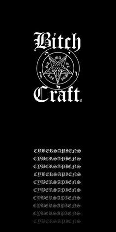 Camiseta fullprint BITCHCRAFT (PRETA) do Studio Cybersapiens por R$55,00