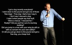 Bill Burr and the misnomer of Rescue Dog