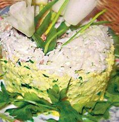 Salată de primăvară | Retete culinare - Romanesti si din Bucataria internationala Zucchini, Cabbage, Bacon, Vegetables, Food, Essen, Cabbages, Vegetable Recipes, Meals