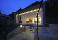 'A' House in Kisami. Shizuoka,Japan, designed byFlorian Busch Architects. Located on the southern most tip of the Izu Peninsula.