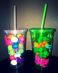 Tumblers by K7KB on Etsy, $5.00