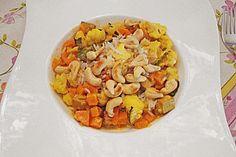 Curry - Gemüse mit Tofu (Rezept mit Bild) von traube   Chefkoch.de