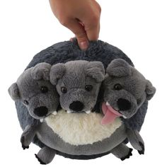 Squishable / Mini Cerberus Plush - * Check this awesome product by going to the link at the image. (This is an affiliate link) Homemade Stuffed Animals, Three Blind Mice, Billy Goats Gruff, Mini Dogs, Pet Pigs, Buy Gift Cards, Cerberus, Little Pigs, Dinosaur Stuffed Animal