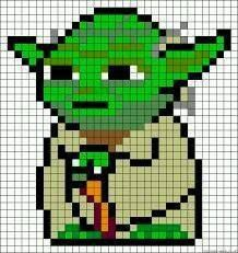 Who else is excited about the new Star Wars movie coming out? We bought our opening night tickets for the whole family and we can't wait! In the meantime, I've compiled some of the coolest Star Wars p Star Wars Crochet, Pixel Crochet, Crochet Chart, Perle Hama Star Wars, Cross Stitch Designs, Cross Stitch Patterns, Pixel Art Grid, Minecraft Pixel Art, Minecraft Crafts