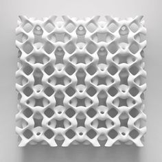 Details w elike / Strukture / 3D Print? / White / Almost Knited like / at takeovertime
