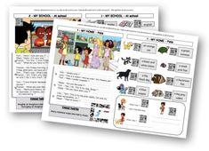I love English school numérique – Traces écrites interactives – Niveau 2