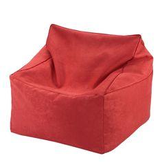 Sitzsack Bodenkissen Relaxkissen Sitting Bag 2 in 1 rot 70/70/40cm H100360