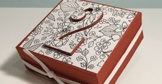 Hidden Inside the Lines Gift Box - Video Tutorial with Stampin' Up products