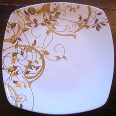 Porcelain China Mugs Fine Porcelain, Porcelain Ceramics, Painted Porcelain, China Painting, Ceramic Painting, Clay Plates, Square Plates, Clay Design, Vintage Plates