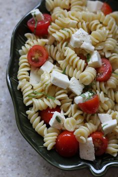 Margarita Pasta Salad | Brittany's Pantry - An easy side that will become a favorite stand-by recipe!
