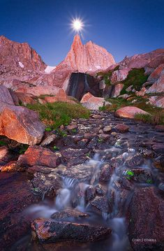"""""""Granite Moonset"""" Cory J. O'Neill - Fine Wilderness and Landscape Photography Landscape Art, Landscape Photography, Nature Photography, Beautiful Landscapes, Beautiful Images, Best Nature Wallpapers, Quelques Photos, Beautiful Places In The World, Amazing Nature"""