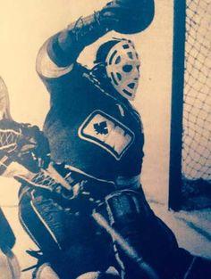 Les Binkley Hockey Goalie, Hockey Teams, Hockey Players, Bernie Parent, Goalie Mask, Good Old Times, Vancouver Canucks, My Themes, Toronto Maple Leafs