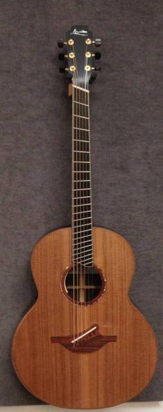 Lowden F-50 fan fret Brazilian Rosewood/Redwood with soundbox bevel, ordered by Bluedog Guitars https://www.facebook.com/photo.php?fbid=529156627154554=a.160661850670702.40414.144296432307244=1