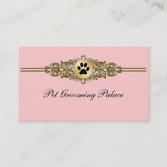 Shop Elegant Pet Grooming Business Cards created by Luckyturtle. Personalize it with photos & text or purchase as is! Poodle Grooming, Grooming Salon, Pet Grooming, Elegant Business Cards, Business Card Design, Black Lab Puppies, Corgi Puppies, Dog Grooming Business, Pet Paws
