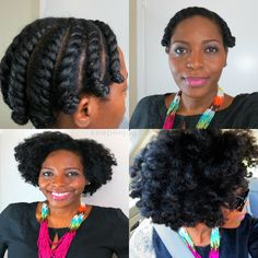 Though bantu knots have been around for a LONG time, more and more naturals are demonstrating that we inherently emanate regality in the style. Bantu knots are more than just a means to an end; Natural Hair Twist Out, Be Natural, Natural Hair Journey, Natural Hair Care, Natural Hair Styles, Natural Curls, Natural Beauty, Twist Hairstyles, African Hairstyles
