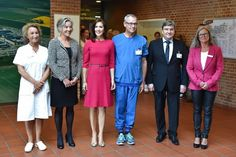 Crown Princess Mary of Denmark attends the opening of the International School of Aarhus Academy for Global Education on September 16, 2015 in Aarhus, Denmark. (Aarhus Academy for Global Education (AAGE) offers an IB inspired education, with English as the primary instructional language, for students from 3-16 years of age.)