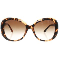 Pre-owned Sunglasses with tortoiseshell pattern (235 CAD) ❤ liked on Polyvore featuring accessories, eyewear, sunglasses, black, tortoise shell sunglasses, tortoiseshell glasses, tortoise shell eyewear, tortoiseshell sunglasses and jeweled sunglasses