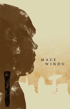 Mace Windu Concept Poster