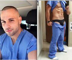 Mr Charge Nurse: Under my Scrubs