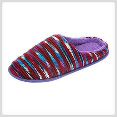 Coolers , Damen Hausschuhe, mehrfarbig - Rot/Mehrfarbig - Größe: S 36-37 EU - Hausschuhe für frauen (*Partner-Link)