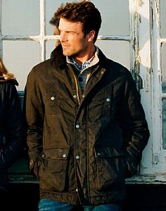 Hudson Jacket £157.25 only 'showerproof'
