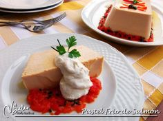 Pastel de Salmon Dieta Dukan Dukan Diet, Spice Things Up, Feta, Cheesecake, Clean Eating, Spices, Food And Drink, Nutrition, Healthy Recipes