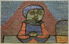Paul Klee - Knabe am Tisch