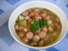 Nakkikeitto - Resepti | Kotikokki.net Easy Cooking, Food To Make, Beans, Food And Drink, Soup, Vegetables, Ethnic Recipes, Finland, Beans Recipes