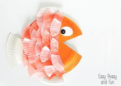 We love paper plate crafts and we love cupcake liner crafts so we combined those two fun materials and made paper plate & cupcake liner fish! Both paper plate and cupcake liner crafts are fun for all ages! Let's make a paper plate & cupcake liner fish! You'll need: 1 or 2 paper plates cupcake …