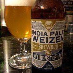 BrewDog + Weihenstephaner India Pale Weizen #cerveja #beer