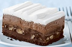 Triple-Layer Dessert
