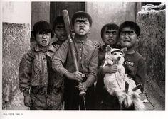 Children playing, by Kim Ki-Chan