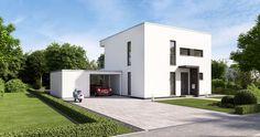 Kern-Haus Bauhaus Novum P Eingangsseite