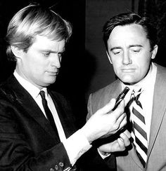 David McCallum and Robert Vaughn The Man From UNCLE