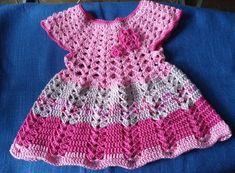 Rompers, Dresses, Fashion, Lilac, Grief, Fast Crochet, Little Dresses, Flower Crochet, Kawaii