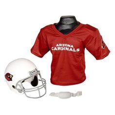 Arizona Cardinals Youth NFL Helmet and Jersey Set