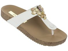 Grendha Essence Thong - White £25.00 - Ipanema Fab Flip Flops available at www.fabflipflops.co.uk #flipflops #beach #summer