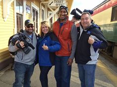 Thx to @WeatherChannel #ItsAmazingOutThere team that visited #NH this week! Sat AM they'll be live in #NorthConway!