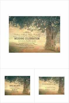 Old Tree Wedding Collection