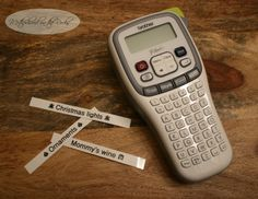I love my new Brother P-Touch PT-H100 label maker. It's helping me to stay organized this holiday season, teach my daughter Spanish and so much more! See how it can help to make your life easier! #Ptouch25 #sponsored