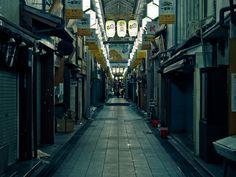 Lam.NT - Closed market_ Kyoto, Japan