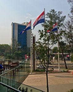 Una vista de Asunción -Paraguay