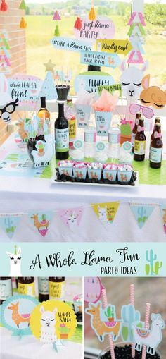A Whole Llama Fun Party Decoration Concept via bigdotofhappiness.com #llama #alpaca #birthday #birthdayparty #partyideas ★ Llama Party Decorations ★ Llama Birthday Party Decoration Ideas ★ Llama Birthday Party Décor ★ Llama Birthday Party ★ Llama Birthday Party Ideas ★ Llama Birthday Celebration ★ For other fun party themes for kids, check out: www.partyplanningsolutions.com