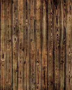 Wooden Plank Wall - Burned - Wall Mural & Photo Wallpaper - Photowall